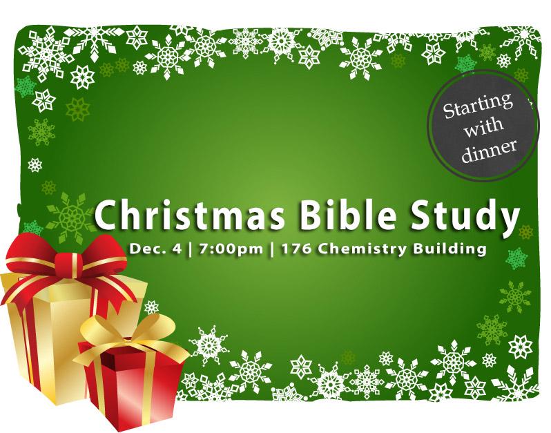 Wed Dec 4  IUSM Christmas Bible Study 7 00pm   176 Chemistry Ts7fsRp5