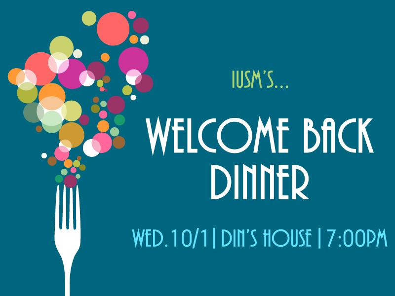 IUSM Welcome Back Dinner 10.1 Splash Copy