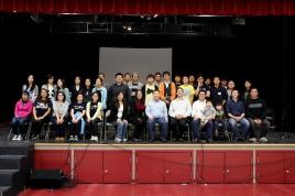 IUSM group photo! Cheese!
