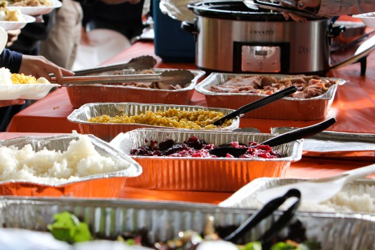 Wow... look at all the yummy food...
